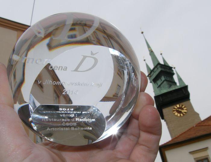 Cenu Ď v Jihomoravském kraji 2014 získala Pauline Ivanyi