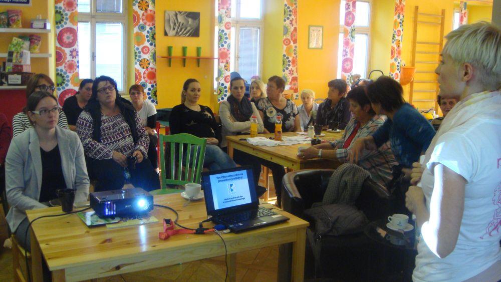 Přednáška v Žatci