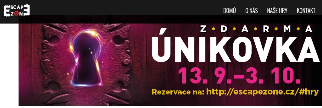 Únikovka Plzeň