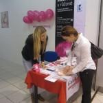 Měsíc v růžové v OC Galerie Ostrava