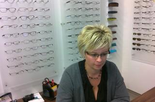 Beseda s optometristkou