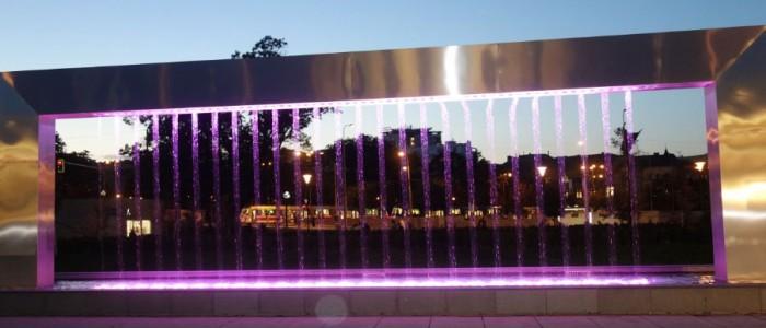 Růžová fontána